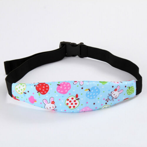 New Baby Child Head Support Stroller Car Seat Auxiliary Belt Sleep Safety Strap
