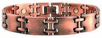 Magnetic Copper Link Bracelet For Men Turin