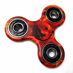 Fire TriSpinner Fidget Toys 3D Fidget EDC Hand Spinner Anti Stress Camouflage - <span itemprop=availableAtOrFrom>UK, United Kingdom</span> - Returns accepted - UK, United Kingdom