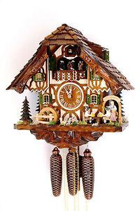 cuckoo-clock-black-forest-8-day-original-germany-music-beer-drinker-beer-garden