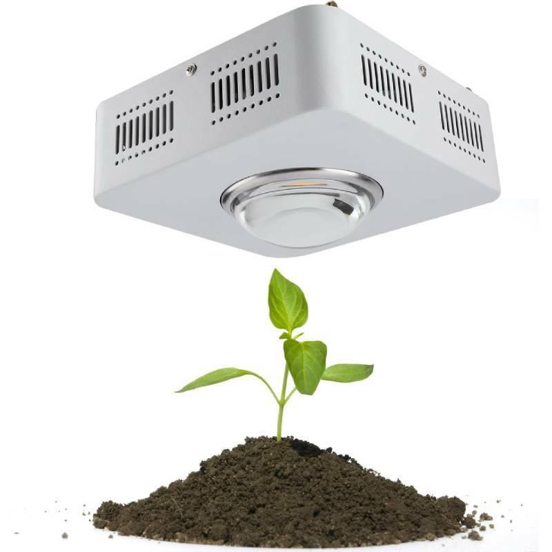 100W COB LED Grow Licht Pflanzenlampe Light Volles Spektrum Wachsen Lampen Weiß