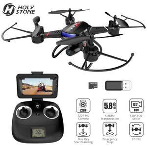 Holy Stone F181G RC Drone with HD Camera 5.8G LCD FPV Selfie Quadcopter Headless