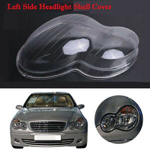 Car-Left-Headlight-Lens-Shell-Cover-Plastic-For-Benz-Mercedes-W203-C-Class-01-07