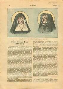 Portrait-Sainte-Madeleine-Postel-Sophie-Barat-Bourgogne-France-1925-ILLUSTRATION