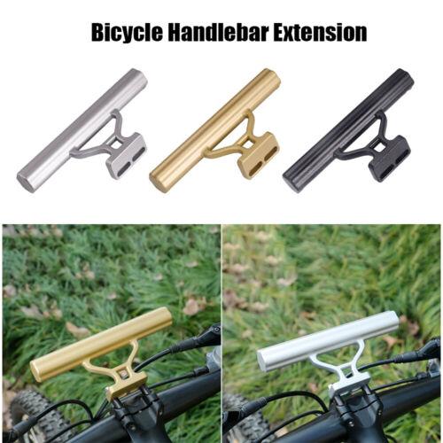 Bike Handlebar Extension Mount Bicycle Handle Bar Bracket Phone Holder Extender@