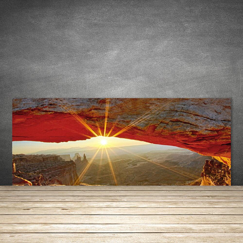 Crédence de cuisine en verre Panneau 125x50 Paysage Grand Canyon