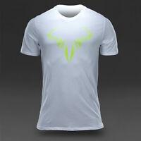 Nike Premier Rafa Icon Crew Tee Shirt Size L $40 Rafael Nadal Bull
