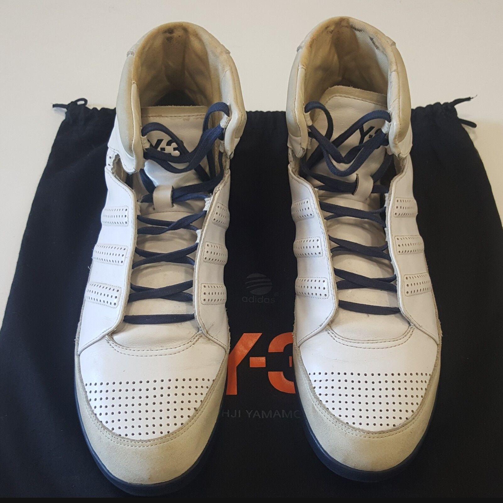Men Adidas Y-3 Honja High White Sneaker US 9.5