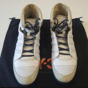01840a113caad Men Adidas Y-3 Honja High White Sneaker EU 43 US 9.5 UK 9