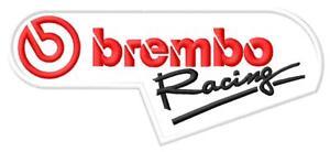 Brembo Racing ecusson brodé patche Thermocollant iron-on patch - Poznan, Polska - Zwroty są przyjmowane - Poznan, Polska