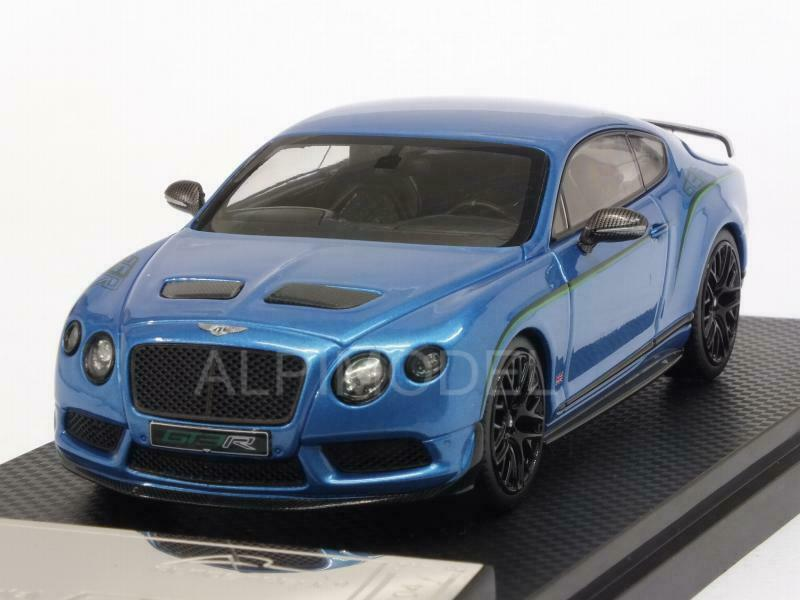 Bentley Continental GT3R 2015 bleu Metallic 1 43 ALMOST REAL 430403
