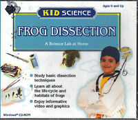 New: Frog Dissection (kid Science) Cd-rom [i96]
