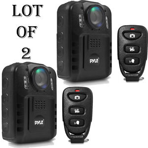 Pyle Compact Portable 1080p HD Infrared NightVision Police Body Camera PPBCM9 2