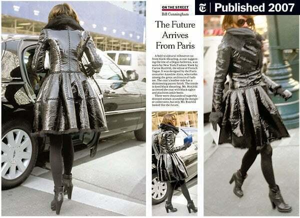 Alaia black  suede-Leather Shearling Princess Ple… - image 1