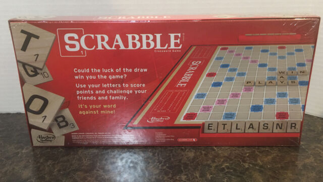 A8166 for sale online Hasbro Scrabble Game