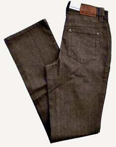34 Fit Straight Braun Neu Melanie Brown Stretch Gr Jeans Denim L Mac 36 vmnOyN80w