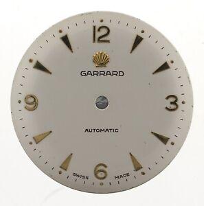 GARRARD-AUTOMATIC-SHELL-WRIST-WATCH-DIAL-SPARES-W165