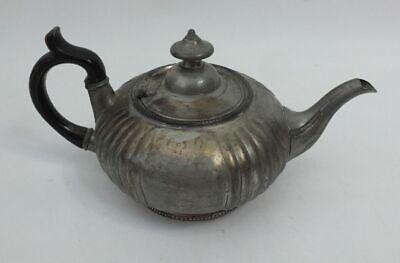 KöStlich Antik Sheffield Dixon & Sons Zinnkanne Teekanne Zinn Etain Pewter Teapot 1910/20