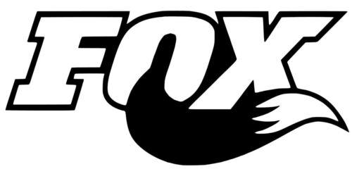 Fox Racing Dirt Bike Shocks Decal Diecut Sticker 12 Colors