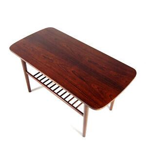 Retro-Vintage-Danish-Rosewood-Coffee-Side-Table-1960s-70s-Mid-Century-Modern