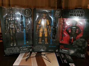 "Star Wars 6"" Black Series Bossk, IG-88, 4-Lom"