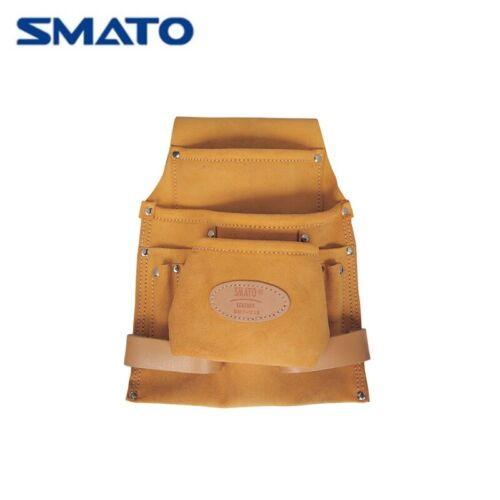 SMATO SMT-228 Heavy Duty Leather 3 Pocket Nail /& Outil Sac Pochette
