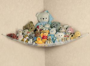 LARGE HAMMOCK STORAGE TIDY KIDS PLAYROOM BEDROOM NURSERY TEDDY TOYS GAMES BABY 5053878514037