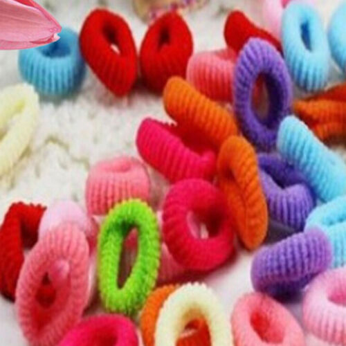 90x Baby Mädchen Handtuch Haar Rop ZP Pack Elastic Candy Farbe