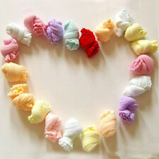 NEW 10 Pair Lovely Newborn Baby Girls Boys Soft Socks Mixed Color design MWUK