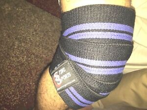 Knee wraps weight lifting body building GYM training legs support