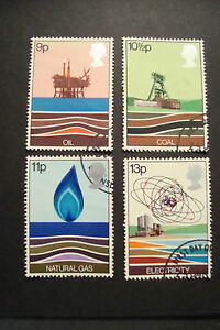 GB-1978-Commemorative-Stamps-Energy-Very-Fine-Used-Set-UK-Seller