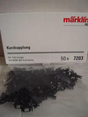 Märklin h0 50x 7203 embrague corto para nem 362 grabación OVP repuesto nr 701630