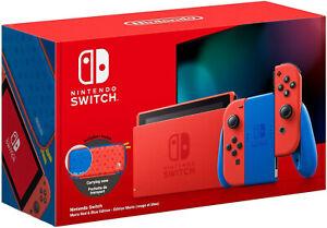 Switch NINTENDO MARIO RED & BLUE LIMITED EDITION console per videogiochi ROSSO BLU