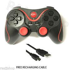 Nueva Recargable Alta Calidad Bluetooth Wireless, gamepad Para Ps3 Rojo