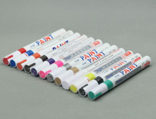 12Pc NIP Oil Based Paint Marker Set