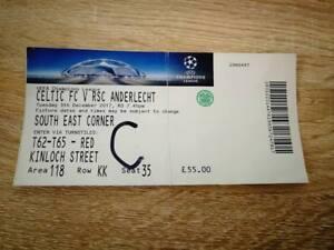 Rsc Anderlecht Tickets