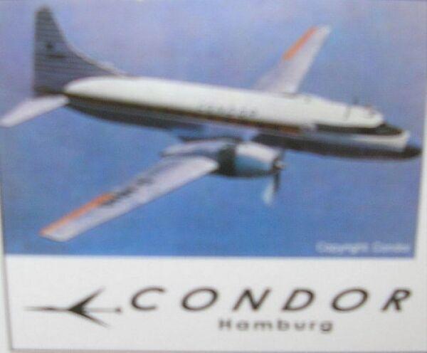 CONVAIR CONVAIR CONVAIR cv-440 Condor Hambourg d47c04