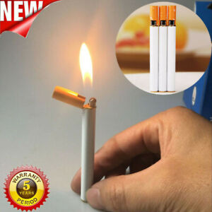 New-Windproof-Jet-Flame-Cigarette-Shaped-Refillable-Butane-Gas-Cigar-Lighter