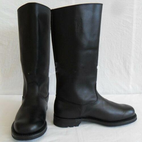 Fashion Military German EM Real Leather Combat Officer Boot Riding Boots CN Size