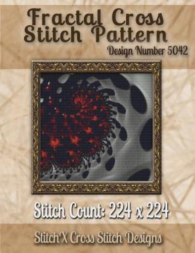Fractal Cross Stitch Pattern Design, Paperback by Warrington
