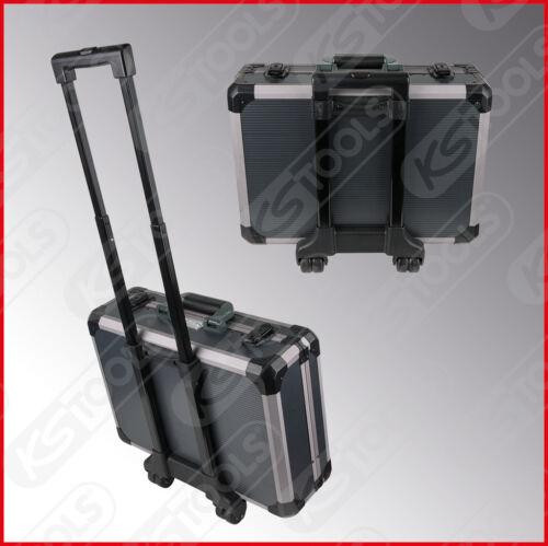 """Aluminiumkoffer Werkzeug 911.0630 1//2/"""" Universal-Werkzeug-Satz 1//4/"""" 130-tlg"""
