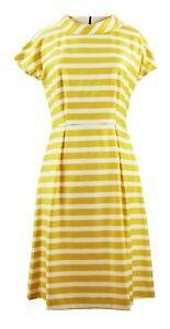Yellow-Off-White-Stripe-Dress-Longer