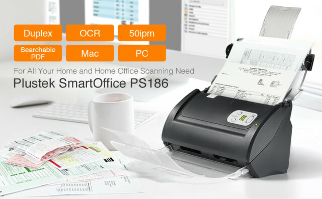 Pek Ps186 High Sd Doent Scanner Duplex Color With Ocr Function