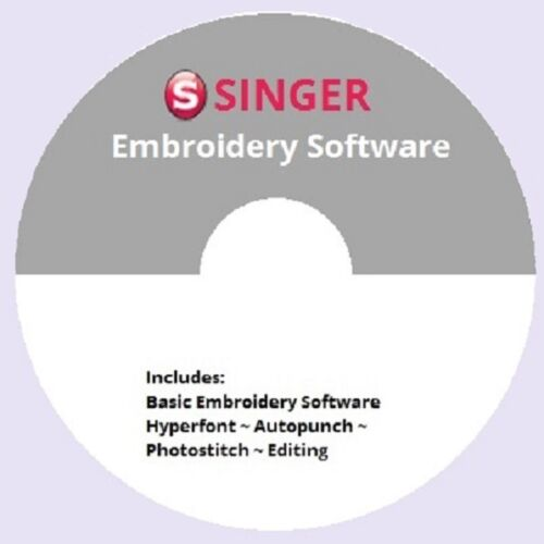 FREE Singer Futura Software~with $25 purchase of FONTS package