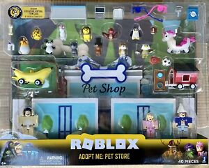 Roblox Adopt Me Pet Store 40 Pieces Play Set Celebrity Collection Hot Toy Ebay