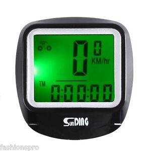 SunDing-SD-568AE-Ciclismo-Al-Aire-Libre-Cuentakilometros-Velocimetro-con-LCD