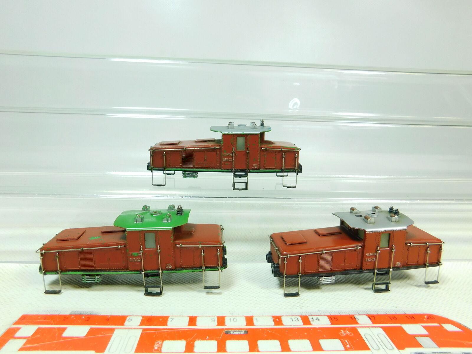 Bu306-0, 5  3x   h0 chassis per CE 800/3001 E-Lok 1-mal, 3000, 2. scelta/Ben
