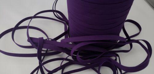 "1//4/""skinny elastic PLUM10y SKINNY elastic trimface mask elastic cord,elastic"