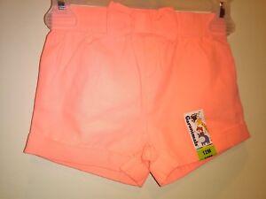 Garanimals Baby Girls Coral Shorts 12 Months