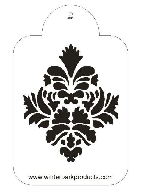 Damask Stencil For The Designer Stencil for Decorating Cake #S266